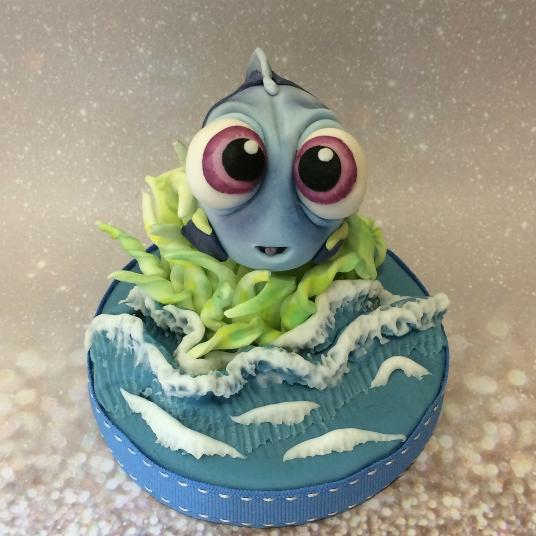 Blue Tang 'Baby Dory' by The Cake Bar