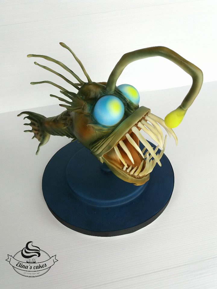 Angler Fish by Elina's Cakes