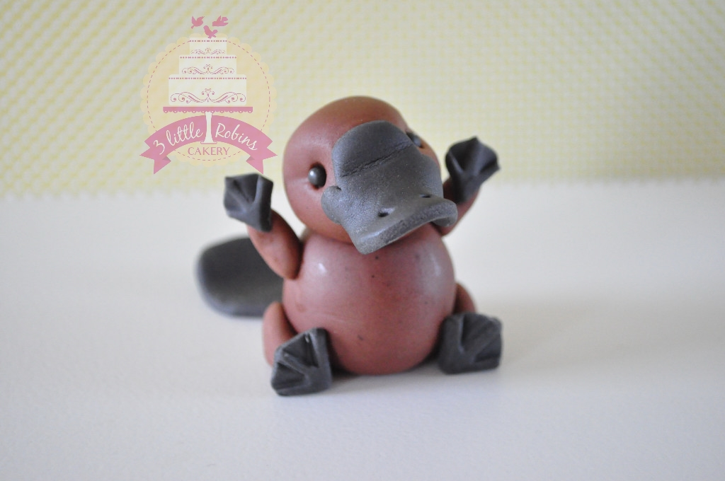 Platypus by 3 Little Robins Cakery
