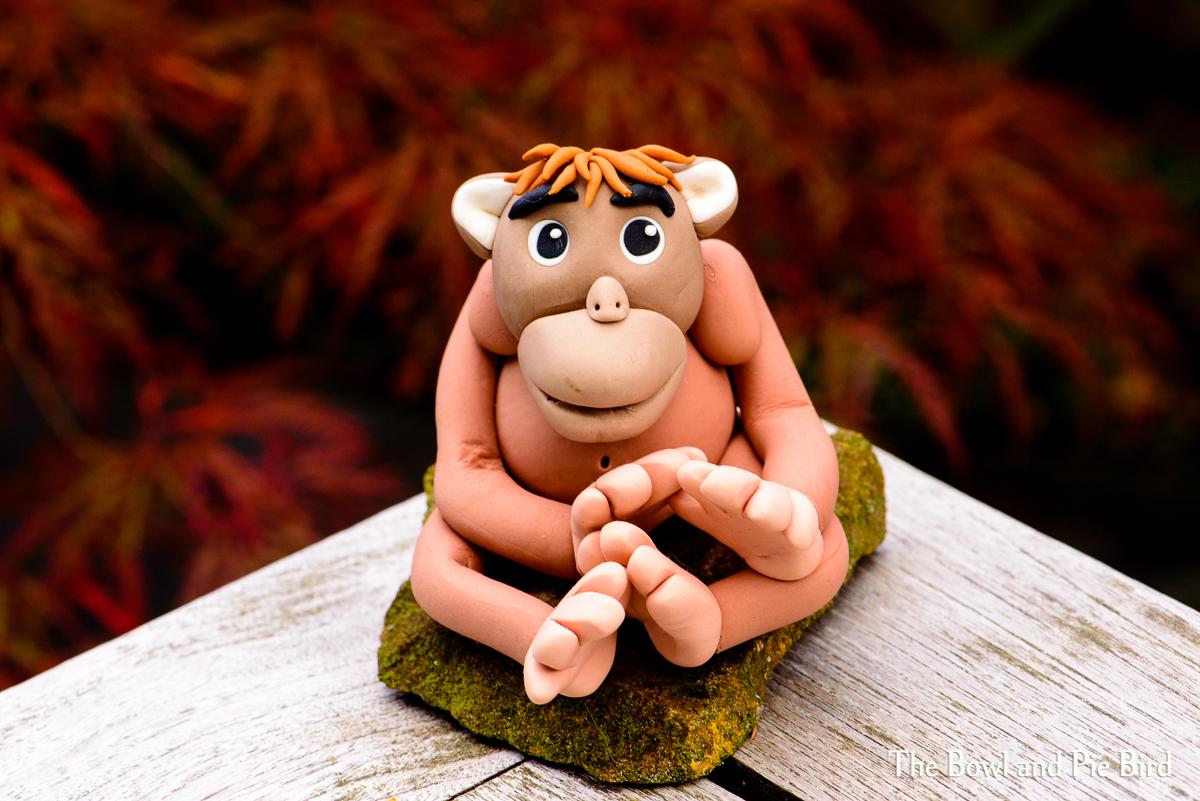 Orangutan by Nadia Mari