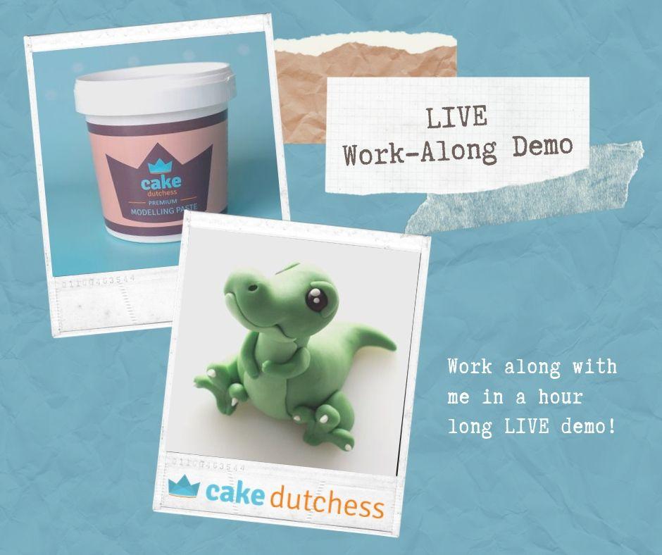 Monthly Cake Dutchess LIVE demo's!