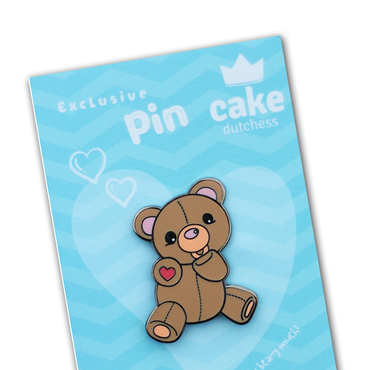 Cake Dutchess Enamel Pin