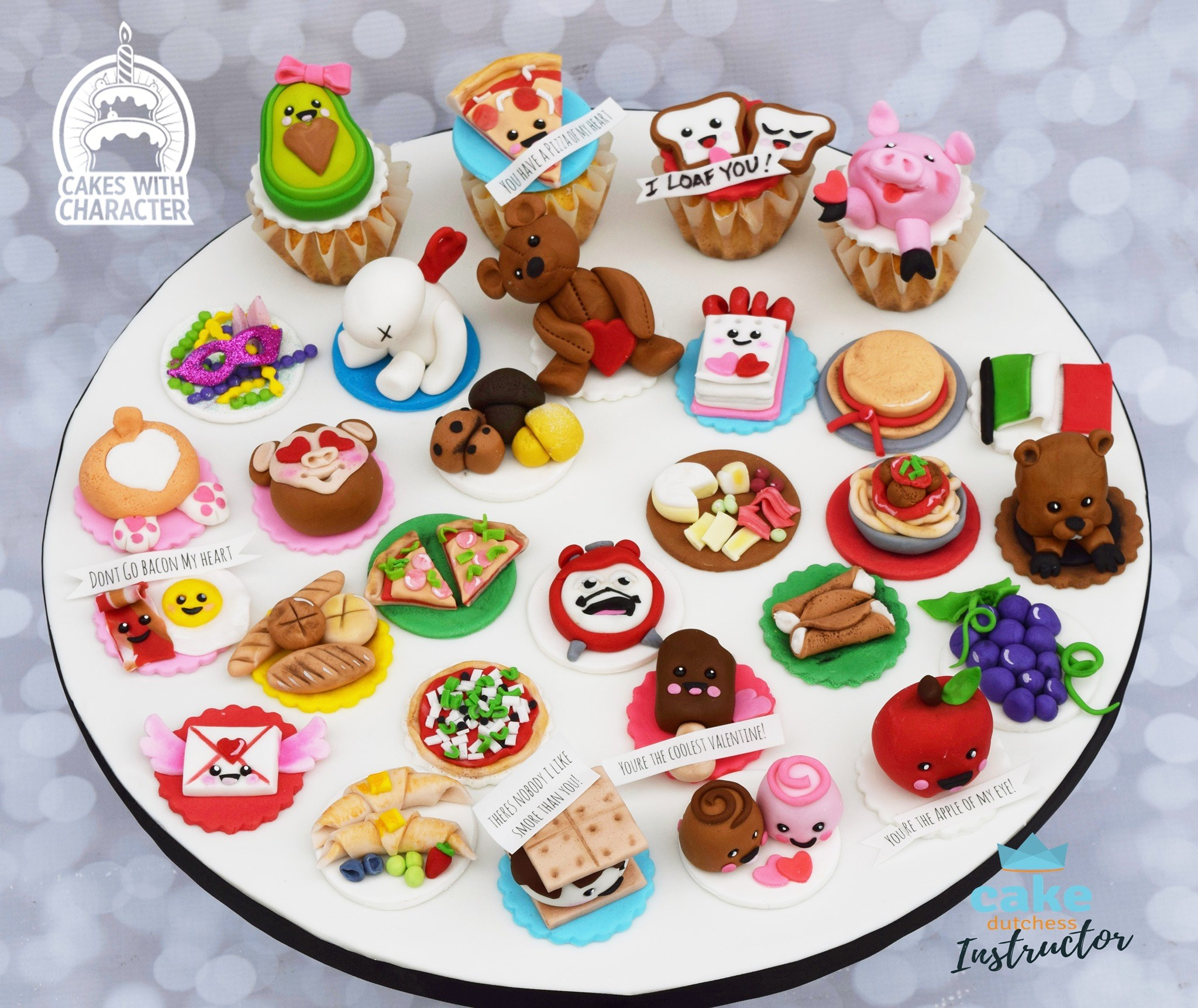 365 Cake Toppers!